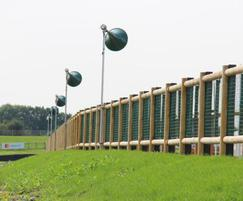 M&M Timber timber fencing at Goodwood Race Track
