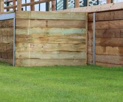 M&M Timber sleepers for ramp at Goodwood Race Track