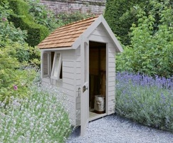 M&M Timber Retreat Shed Pebble Grey 6×4