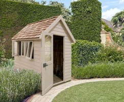 M&M Timber Retreat Shed Natural Cream 8x5