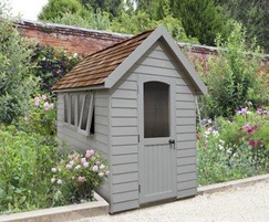 M&M Timber Retreat Shed Pebble Grey 8x5