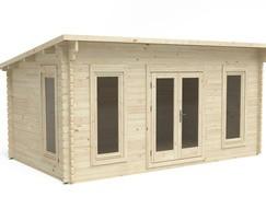 The Elmley Log Cabin - 5m x 3m