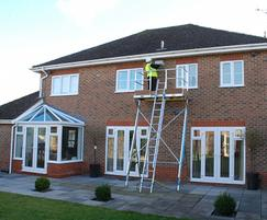 Easi-Dec provides safe access to house roof levels