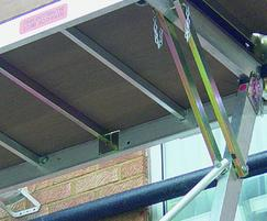 Roofline System continuous roof access platform