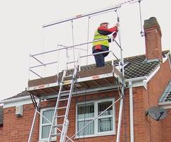 Platform provide access for safer solar installations