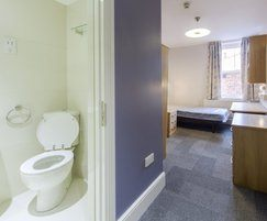 Bathroom pod for student accommodation
