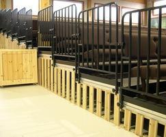 Demountable bench seating