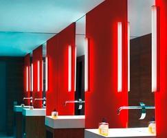 Designer bathroom lighting