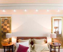 PowerEYE LED lighting in bedroom setting