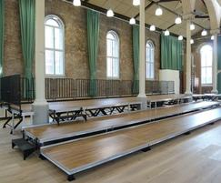 CPS Manufacturing Co: Bespoke staging solution for Hallé Orchestra, Manchester