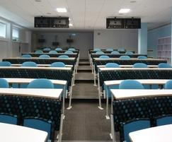 Interactive seating and lecture theatre seating