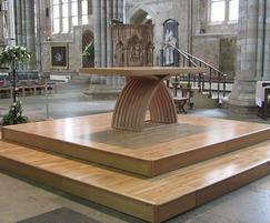 CPS Manufacturing Co: Prestigious CPS staging in Exeter Cathedral