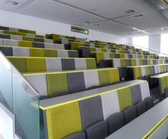 Vario C9 Lecture Theatre Seating  - Designer Fabrics