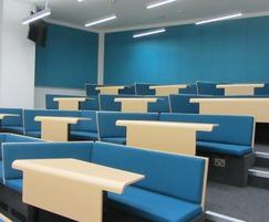 CPS Manufacturing Co: New bespoke bench seating for lecture theatre