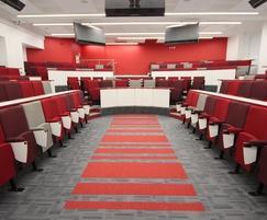 Vario C9 Harvard Lecture Theatre in Designer Fabrics