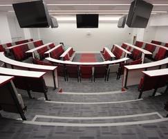 Vario C9 Harvard Lecture Theatre with Curved desking