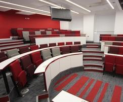 Vario C9 Harvard Lecture Theatre with carpet pattern