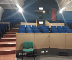 Lecture theatre before refurbishment