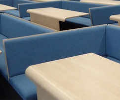Collaborative bench seating, university lecture theatre