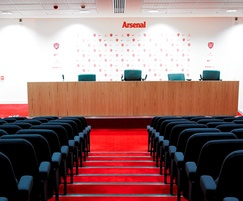 Asset A20 chair at Arsenal press conference room