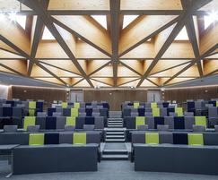 Type C9 lecture theatre seats, University of Birmingham