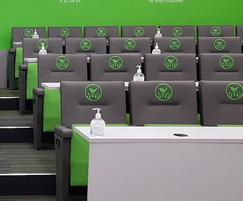 Primo auditorium seating selected - Wren Kitchens