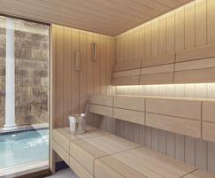 Tylo Passion sauna interior