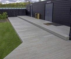 Gardens of Peace - composite deck