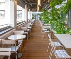 The new decking was part of a major refurbishment
