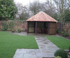 Walled Garden in Cheshire