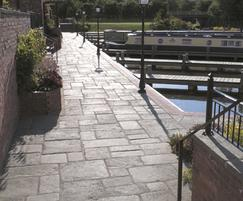 Lancashire Mill Flagstone Paving and Copings