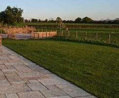 Honey Cathedral limestone paving