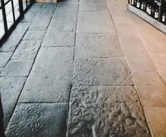 Lancashire Mill handmade flagstone flooring