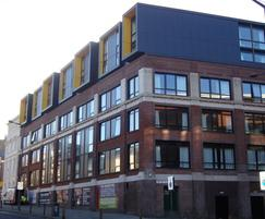 Cembonit cladding for The Arch student flats
