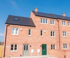 Cembrit: Cembrit slates installed at new housing development
