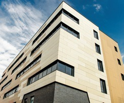 Cembonit cladding from Cembrit on student accommodation