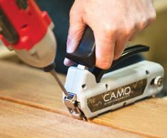 OSC Sales: CAMO hidden deck fastening system arrives from the USA