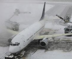 Airport de-icing run-off is contaminated with glycols