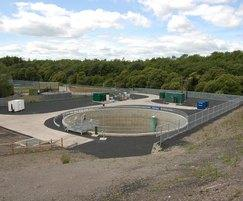 3000m3 holding tank for CSO treatment scheme