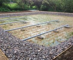 Aerated reedbed treatment system for St Hugh's school