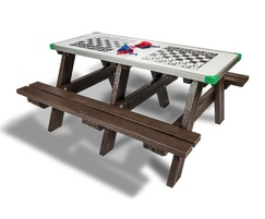 Hero Play - activity picnic table