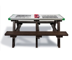 Hero Play - recycled plastic picnic table