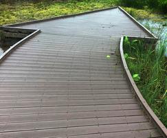 Plaswood boardwalks at Popeye's Park wildlife area