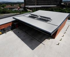 Secret fix roofing – Ashton-under-Lyme Fire Station