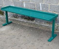 Backless Upland bench