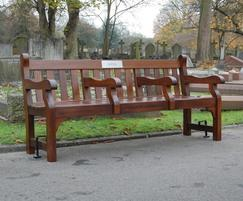 Westminster seat - 1.95m treated - City of Westminster