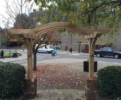 Archway at Church Square Gardens of Remembrance