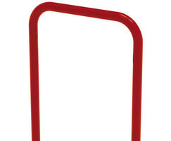 Sheffield bike stand in red