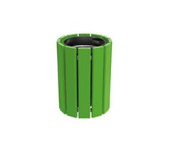 Cologne litter bin - single colour finish