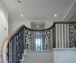 Balustrade for London client